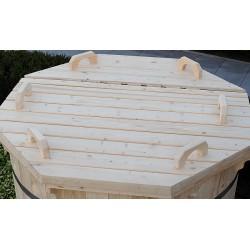 couvercle en bois D:1.5m