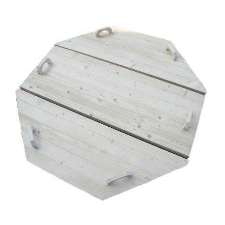 couvercle en bois D:1.9m