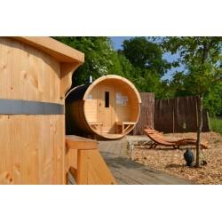 Sauna baril lg2.5m D1.9m