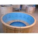 BAIN CHAUD avec cuve en polypro D1.5m