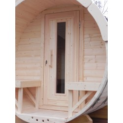 Sauna baril THERMO BOIS lg3m D1.9m