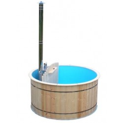 bain chaud en bois D1.5m